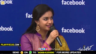 Video Keerthy Suresh Warning to Nani in Live Show - Filmyfocus.com MP3, 3GP, MP4, WEBM, AVI, FLV November 2017