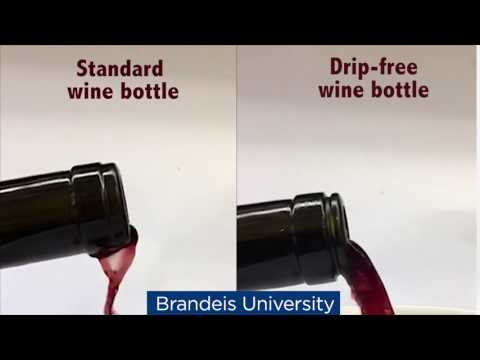 A Simple Wine Bottle Made DripFree With a Brilliantly Conceived Two Millimeter