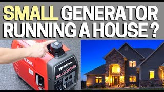 8. How to hook up a Small Generator to Your House -  Works with Honda EU2200i Generators & Others