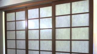 Shoji Screens Sliding Room Divider