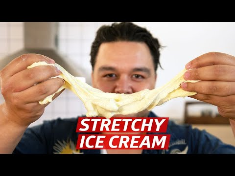 Cliff Attempts To Make Stretchable Ice Cream (Booza) — You Can Do This!