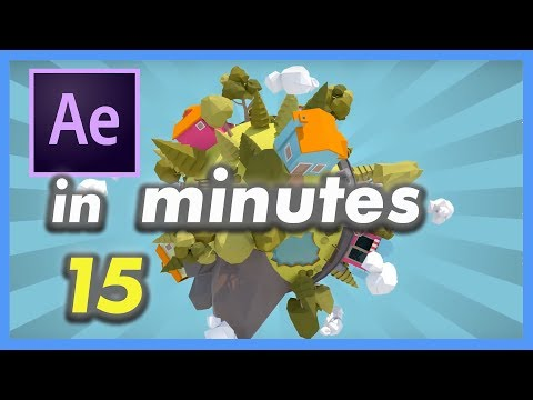 Learn After Effects CC In 15 Minutes - Tutorial For Beginners