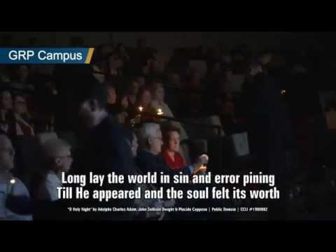 Gateway Church 2014 Candlelight - O Holy Night - Rebecca Pfortmiller Hart &Hallelujah Chourus