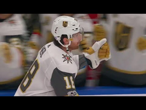 Video: Golden Knights' Neal scores 10th of the season off sweet feed from Miller