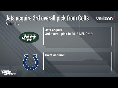 Video: Why Did the Jets Trade Up for the 3rd Pick & What Does this Mean for the Colts? | NFL