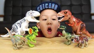 레고 쥬라기 월드 공룡 피규어 LEGO Jurassic World [제이제이튜브 - JJ tube]