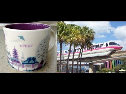 Diane Banks: Disney Starbucks Epcot Purple Monorail Mug Pulled From Store Shelves Why? 2015 World