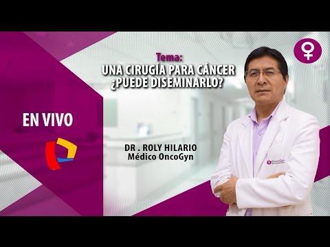 Una cirugía para cáncer ¿Puede diseminarlo?