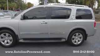 Autoline Preowned 2010 Nissan Armada Titanium For Sale Used Walk Around Review Jacksonville