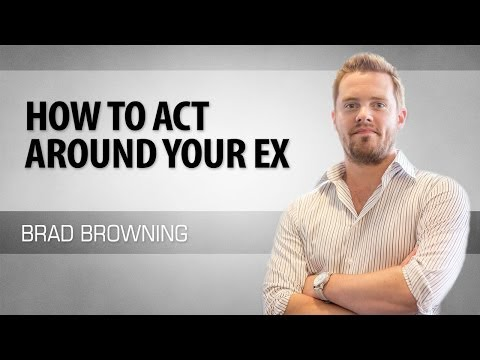 How To Act Around Your Ex (6 Tips For Handling Post-Breakup Encounters) (видео)