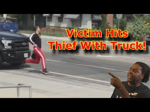 Robbery Victim Hits Thief With His Truck❗😲 😮Commentary & Vid😮 (David Spates)
