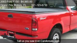 2003 Ford F150 XL 2WD - for sale in West Melbourne, FL 32904