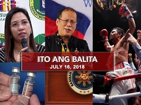 UNTV: Ito Ang Balita (July 16, 2018)