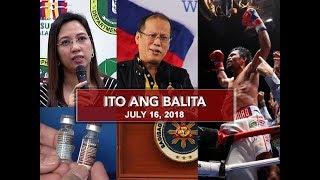 Video UNTV: Ito Ang Balita (July 16, 2018) MP3, 3GP, MP4, WEBM, AVI, FLV Juli 2018