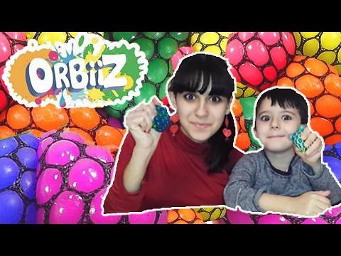 EDICOLA #112: Sono arrivati gli ORBIIZ - Squishy Ball!!!! (видео)
