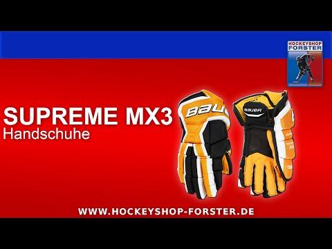 TESTBERICHT BAUER SUPREME MX3 HANDSCHUHE | HOCKEYSHOP FORSTER
