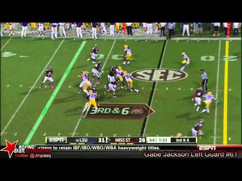 Dillon Day vs LSU 2013 video.