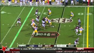 Gabe Jackson vs LSU (2013)