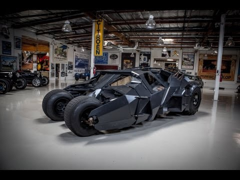 0 Holy Denim Overload, Batman! Jay Leno Drives the Caped Crusader's Tumbler [Video]