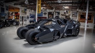 Video Batman's Tumbler - Jay Leno's Garage MP3, 3GP, MP4, WEBM, AVI, FLV Maret 2019