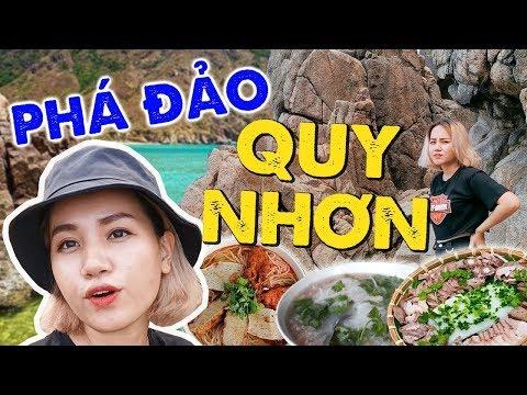 Cùng Châu Giang phá đảo Quy Nhơn : Thiên đường ăn uống, sống ảo siêu rẻ ! - Thời lượng: 8 phút và 14 giây.