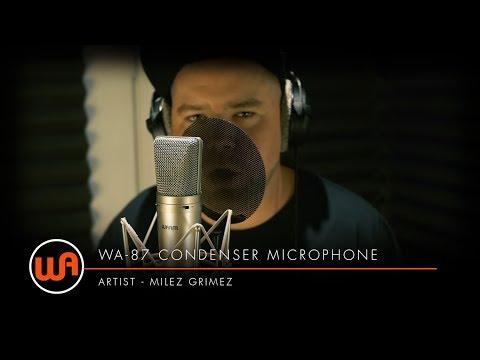 [ Warm Audio ] WA-87 Condenser Microphones - Milez Grimez