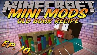Minecraft: Mini Mods Ep.10.5 - Old Book Recipe in Minecraft 1.3.1 Mod
