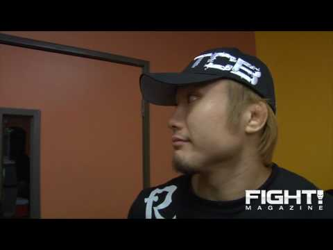 Takanori Gomi Post Fight Interview Wants to Train in USA FullTime Wants UFC to Return to Japan