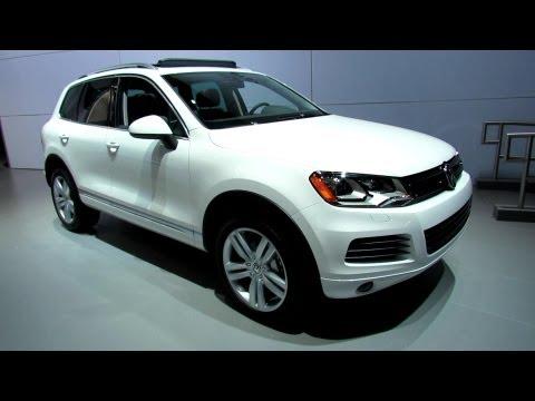Volkswagen  2012 Volkswagen Touareg TDI Executive Exterior and Interior at 2012 New York Auto Show