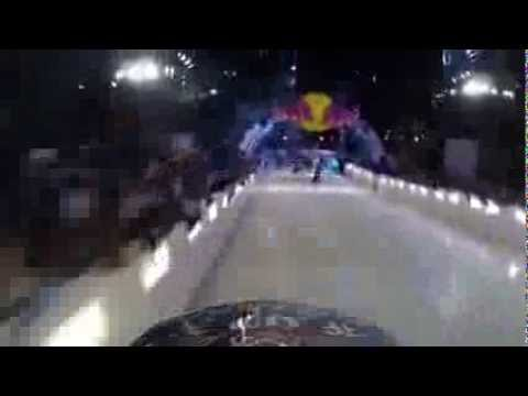 Drift Ghost-S: Onboard Red Bull Crashed Ice MTB Race