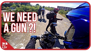 A gun would have saved us? [Chased with a GUN! video explanation]