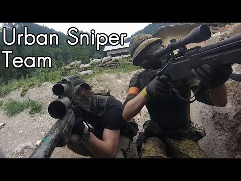 AWESOME: Airsoft Sniper Gameplay - Scope Cam