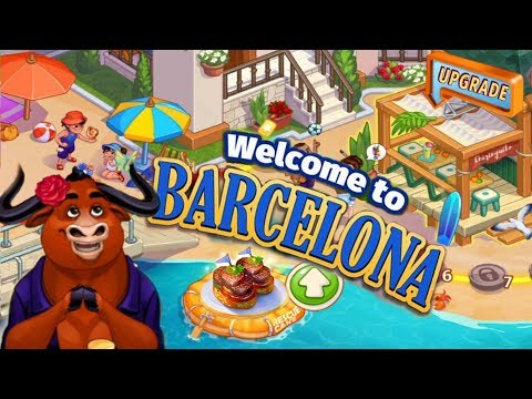 Cooking Craze/ Welcome Barcelona / Levels 1, 4, 5, 7