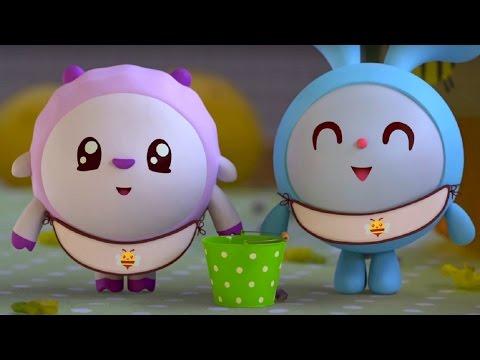 Малышарики - Пчелка - серия 45 - обучающие мультфильмы для малышей 0-4 (видео)