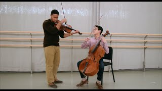 Hello – Adele Cover for Cello and Viola | Nathan Chan and ThatViolaKid Video