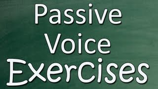 Passive voice with two objects exercise