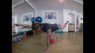 Gymnastik mit dem IO Ball