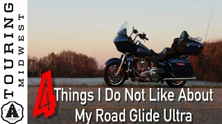What don't I care for about my 2016 Road Glide Ultra?