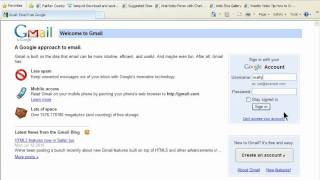 gmail login LogIn - GMail Email Account