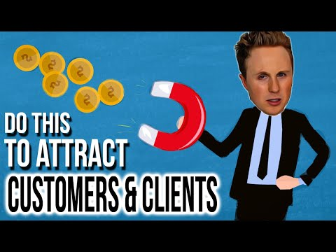 Do This To Attract Clients And Customers 💰💰💰