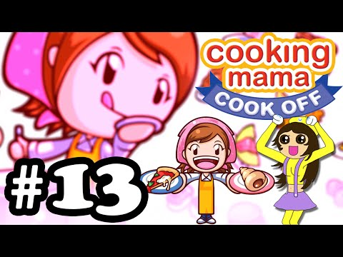 Let's Play Cooking Mama Cook Off #13 Cream Puffs