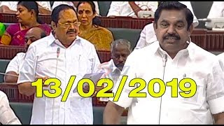 Video Durai Murugan speech at Tamil Nadu Assembly today 13/02/2019|P. Dhanapal,Eddapadi Palanisamy |STV MP3, 3GP, MP4, WEBM, AVI, FLV Februari 2019