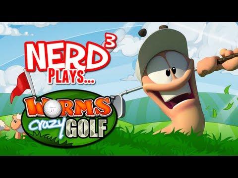 Nerd³ Plays… Worms Crazy Golf