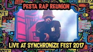 Video Pesta Rap Reunion live at SynchronizeFest - 7 Oktober 2017 MP3, 3GP, MP4, WEBM, AVI, FLV November 2018