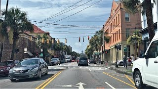 Ladson (SC) United States  city pictures gallery : Driving Downtown - Charleston South Carolina USA