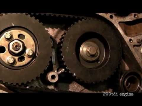 land rover 200tdi engine timing belt replacement with front cover Timing Belt Replacement