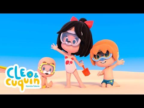CLEO & CUQUIN - UN DÍA EN LA PLAYA (T1 - Ep3) Familia Telerin I Caricaturas - ESPAÑOL LATINO