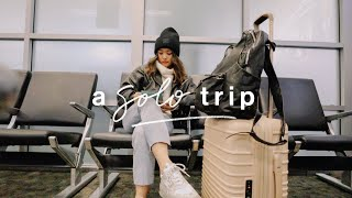 My Solo Trip  | February Vlog by Clothes Encounters