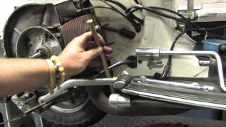 2. Rebuild a Vespa P125 Motor Part 1: Engine Tear-Down