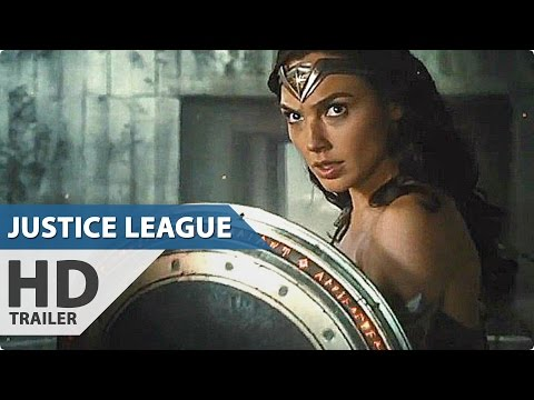 JUSTICE LEAGUE Comic-Con Trailer (2017)